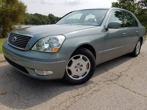 2002 Lexus LS 430 for sale at G T Auto Group in Goodlettsville TN