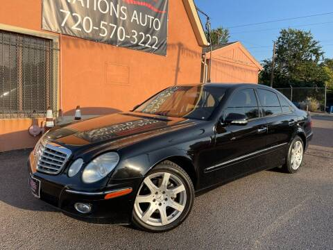 2007 Mercedes-Benz E-Class for sale at Nations Auto Inc. II in Denver CO