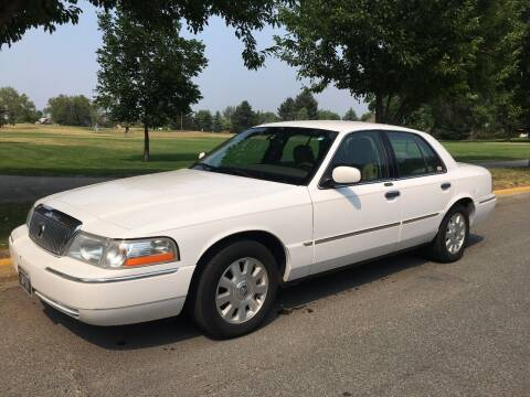 2003 Mercury Grand Marquis for sale at Kevs Auto Sales in Helena MT