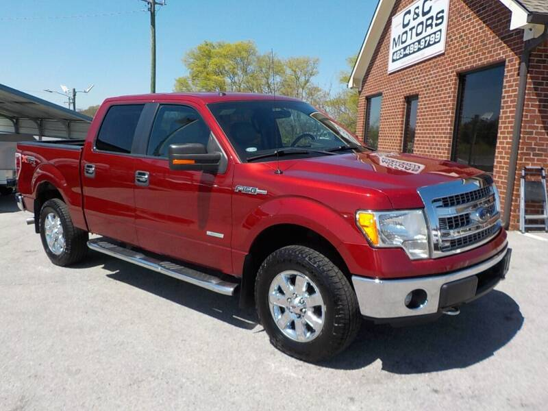 2013 Ford F-150 for sale at C & C MOTORS in Chattanooga TN