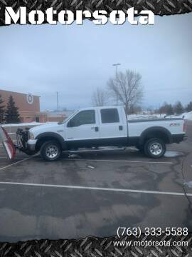 2006 Ford F-350 Super Duty for sale at Motorsota in Becker MN