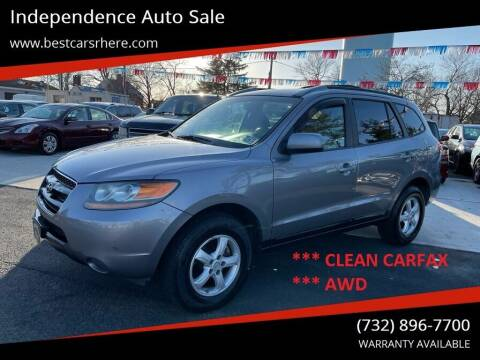 2007 Hyundai Santa Fe for sale at Independence Auto Sale in Bordentown NJ