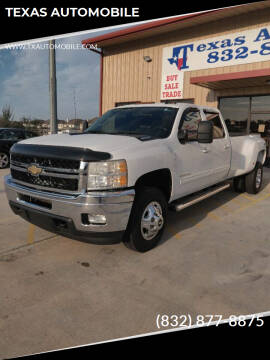 2011 Chevrolet Silverado 3500HD for sale at TEXAS AUTOMOBILE in Houston TX