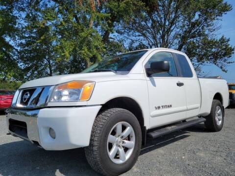 2010 Nissan Titan for sale at PERUVIAN MOTORS SALES in Warrenton VA