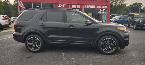 2015 Ford Explorer for sale at L&T Auto Sales in Three Rivers MI