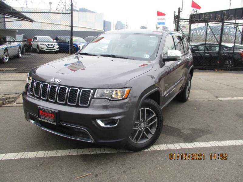 2018 Jeep Grand Cherokee for sale at Newark Auto Sports Co. in Newark NJ