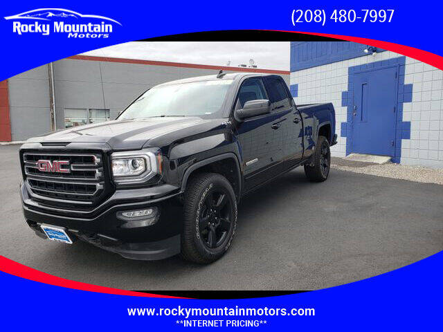 2018 GMC Sierra 1500 for sale at Rocky Mountain Motors in Idaho Falls ID