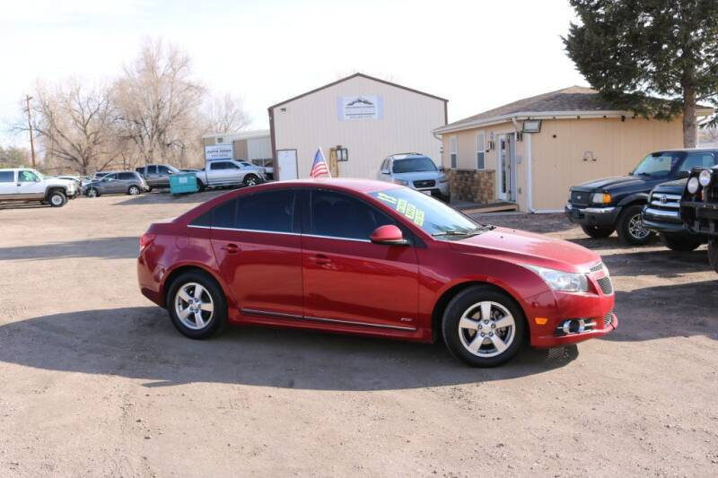 2013 Chevrolet Cruze for sale at Northern Colorado auto sales Inc in Fort Collins CO