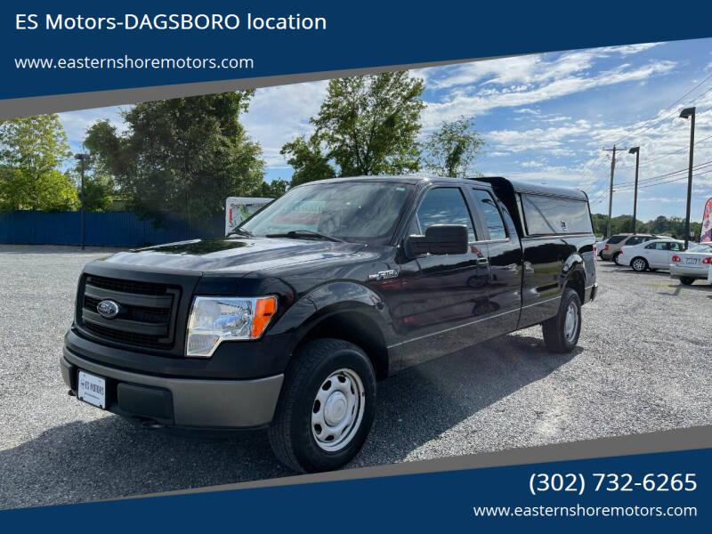 2013 Ford F-150 for sale at ES Motors-DAGSBORO location in Dagsboro DE