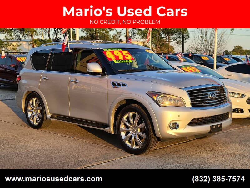 2011 Infiniti QX56 for sale at Mario's Used Cars in Houston TX