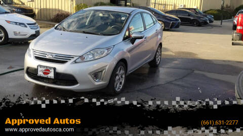 2011 Ford Fiesta for sale at Approved Autos in Bakersfield CA