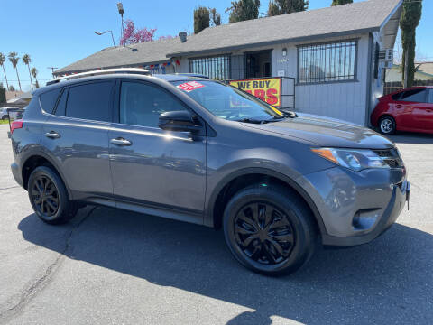 2013 Toyota RAV4 for sale at Blue Diamond Auto Sales in Ceres CA