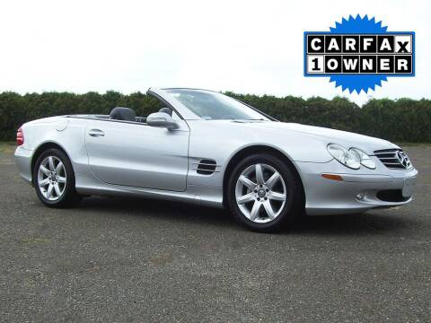2003 Mercedes-Benz SL-Class for sale at Atlantic Car Company in East Windsor CT
