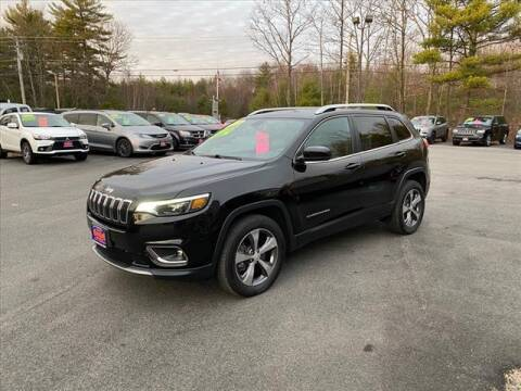 2019 Jeep Cherokee for sale at North Berwick Auto Center in Berwick ME
