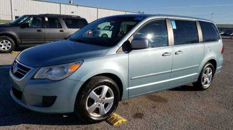 2009 Volkswagen Routan for sale at Angelo's Auto Sales in Lowellville OH