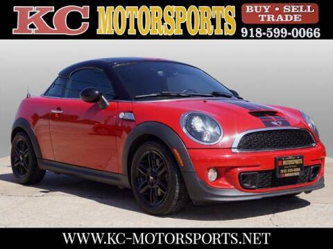 2013 MINI Coupe for sale at KC MOTORSPORTS in Tulsa OK
