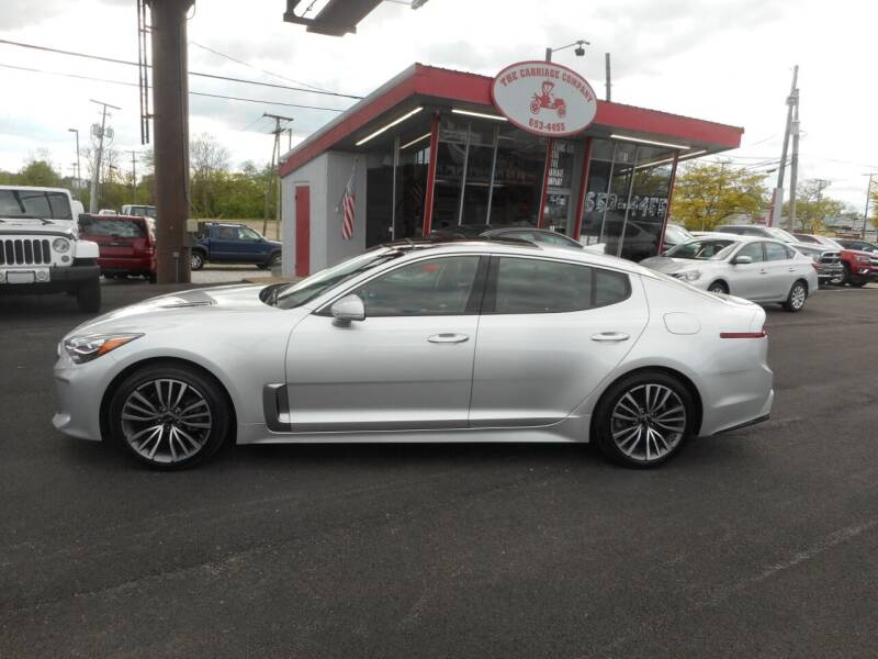 2018 Kia Stinger for sale at The Carriage Company in Lancaster OH