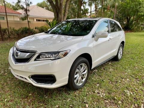 2018 Acura RDX for sale at DENMARK AUTO BROKERS in Riviera Beach FL