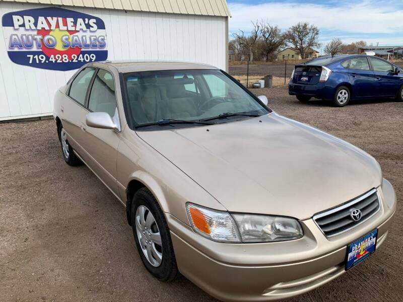 2000 Toyota Camry for sale at Praylea's Auto Sales in Peyton CO