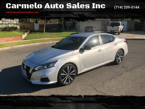 2020 Nissan Altima for sale at Carmelo Auto Sales Inc in Orange CA