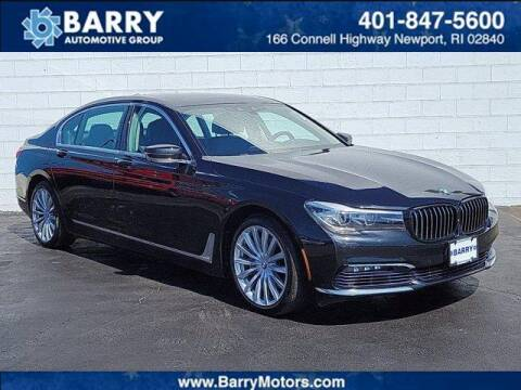 2016 BMW 7 Series for sale at BARRYS Auto Group Inc in Newport RI