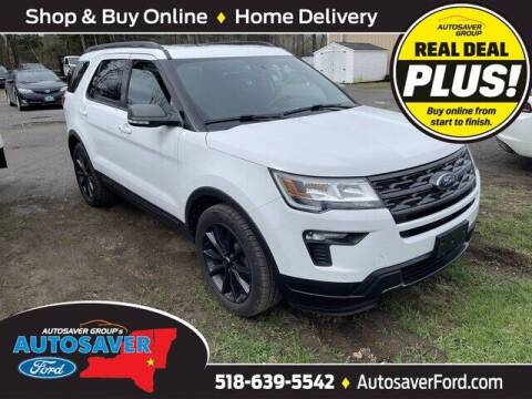 2018 Ford Explorer for sale at Autosaver Ford in Comstock NY
