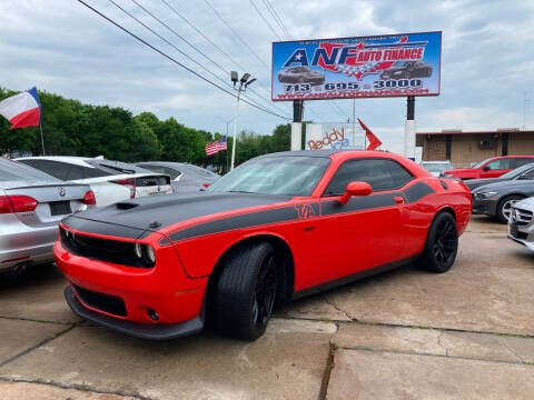 2017 Dodge Challenger for sale at ANF AUTO FINANCE in Houston TX