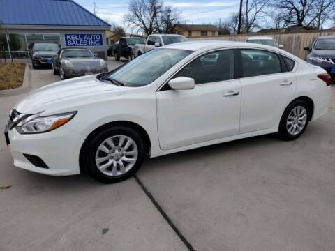 2018 Nissan Altima for sale at Kell Auto Sales, Inc - Grace Street in Wichita Falls TX