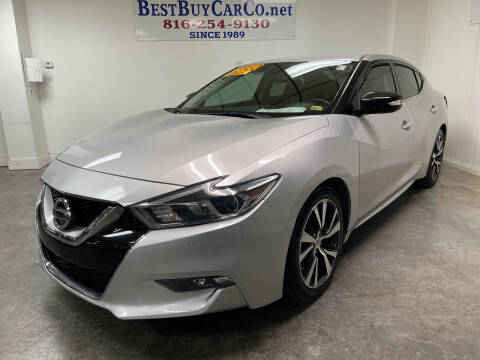 2017 Nissan Maxima for sale at Best Buy Car Co in Independence MO