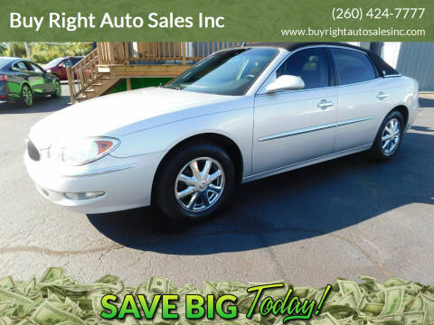 2005 Buick LaCrosse for sale at Buy Right Auto Sales Inc in Fort Wayne IN