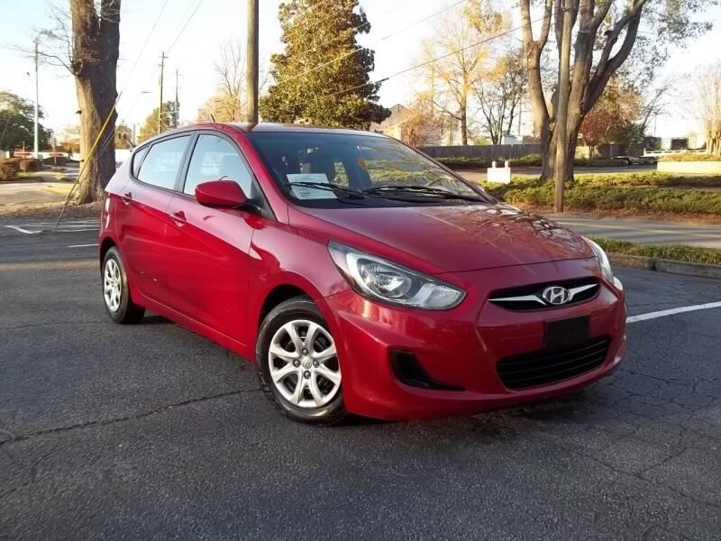 2012 Hyundai Accent for sale at CORTEZ AUTO SALES INC in Marietta GA