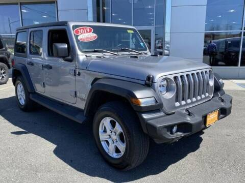 2019 Jeep Wrangler Unlimited for sale at South Shore Chrysler Dodge Jeep Ram in Inwood NY