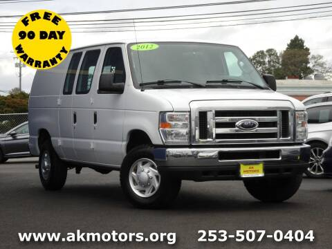 2012 Ford E-Series Cargo for sale at AK Motors in Tacoma WA