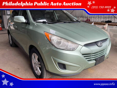 2011 Hyundai Tucson for sale at Philadelphia Public Auto Auction in Philadelphia PA