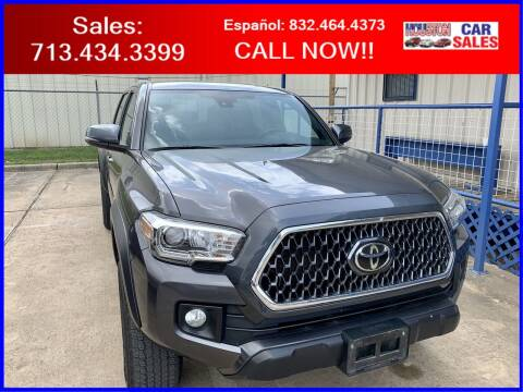 2019 Toyota Tacoma for sale at HOUSTON CAR SALES INC in Houston TX