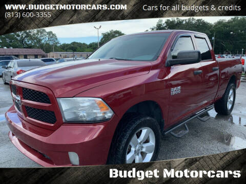 2013 RAM Ram Pickup 1500 for sale at Budget Motorcars in Tampa FL