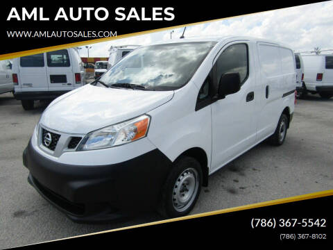2015 Nissan NV200 for sale at AML AUTO SALES - Cargo Vans in Opa-Locka FL