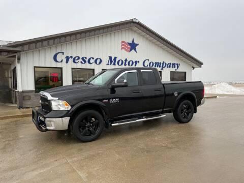 2016 RAM Ram Pickup 1500 for sale at Cresco Motor Company in Cresco IA