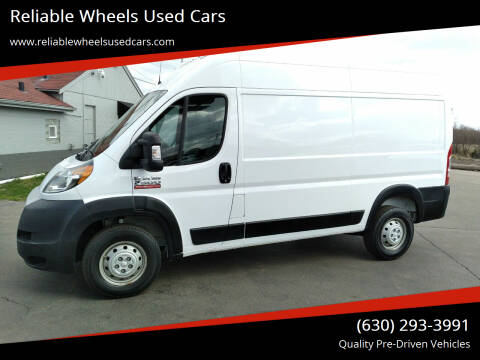 2020 RAM ProMaster Cargo for sale at Reliable Wheels Used Cars in West Chicago IL