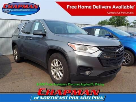 2020 Chevrolet Traverse for sale at CHAPMAN FORD NORTHEAST PHILADELPHIA in Philadelphia PA