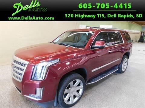 2018 Cadillac Escalade for sale at Dells Auto in Dell Rapids SD