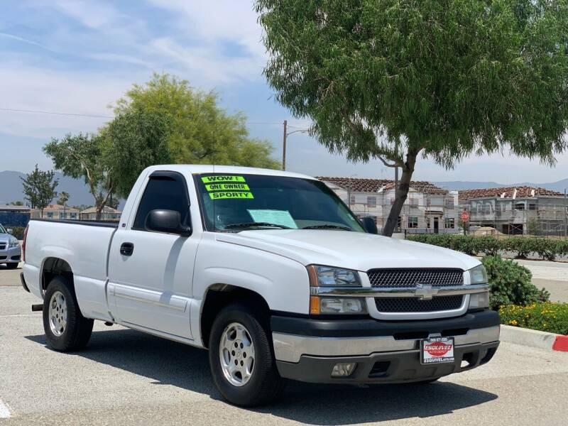 2003 Chevrolet Silverado 1500 for sale at Esquivel Auto Depot in Rialto CA