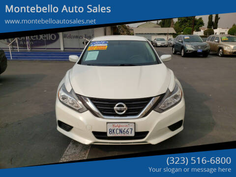 2016 Nissan Altima for sale at Montebello Auto Sales in Montebello CA
