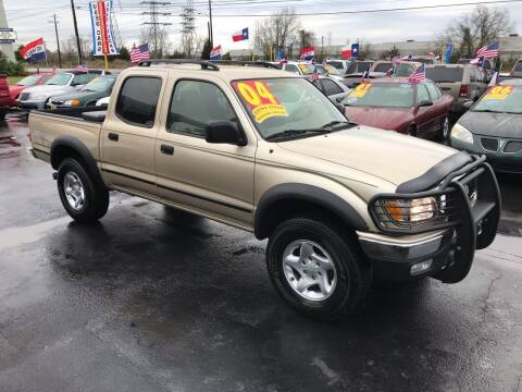 2004 Toyota Tacoma for sale at Texas 1 Auto Finance in Kemah TX