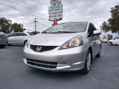 2013 Honda Fit for sale at BAYSIDE AUTOMALL in Lakeland FL