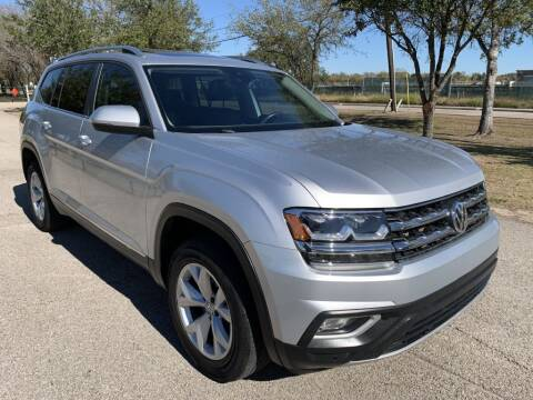 2018 Volkswagen Atlas for sale at Prestige Motor Cars in Houston TX