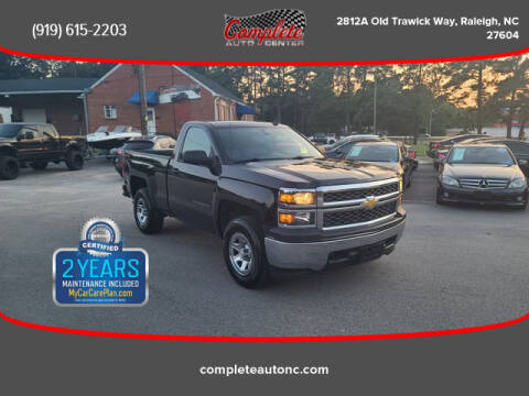 2014 Chevrolet Silverado 1500 for sale at Complete Auto Center , Inc in Raleigh NC