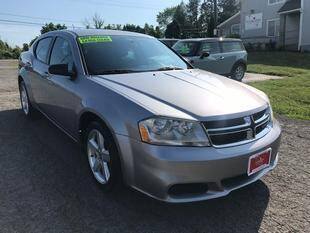 2013 Dodge Avenger for sale at FUSION AUTO SALES in Spencerport NY