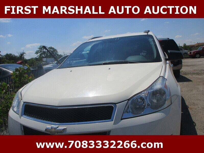 2011 Chevrolet Traverse for sale at First Marshall Auto Auction in Harvey IL