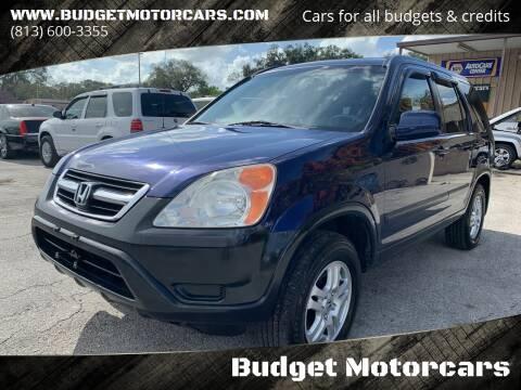 2004 Honda CR-V for sale at Budget Motorcars in Tampa FL